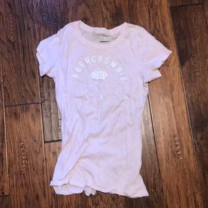 Abercrombie and Fitch Pink T-Shirt